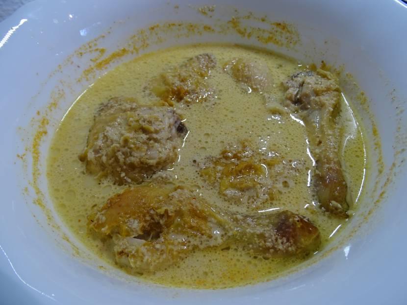 Saucen aus Georgien - Hähnchen in Bazhe