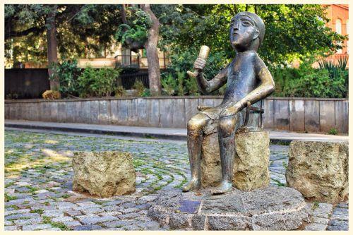 Tamada-Statue in Tbilisi