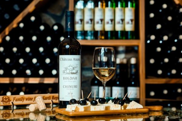 Georgischer Wein heute, Produktion des Chateau Ateni