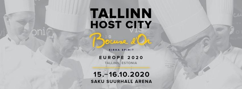 Georgische Küche bei Bocuse d'Or, Poster für Wettbewerb in Tallinn Team Georgien
